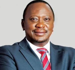 H.E. UHURU MUIGAI KENYATTA, FOURTH PRESIDENT OF KENYA, ALSO COMMANDER IN CHIEF OF THE DEFENCE FORCES OF KENYA, LIVES IN STATE HOUSE.
